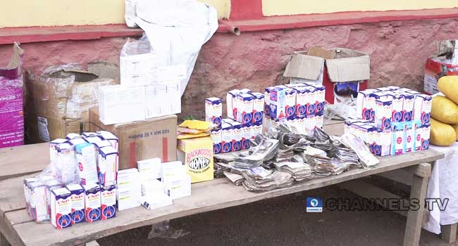 Police Recover Money, Hard Drugs After Raiding Cartel In Ogun