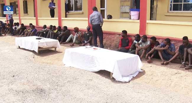 Police Parade 45 Suspected Criminals In Ogun