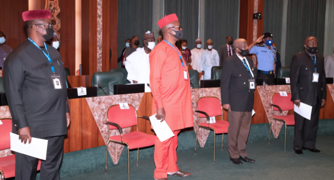 Members OF CCB, PSC Sworn In As First FEC Meeting Of 2021 Holds