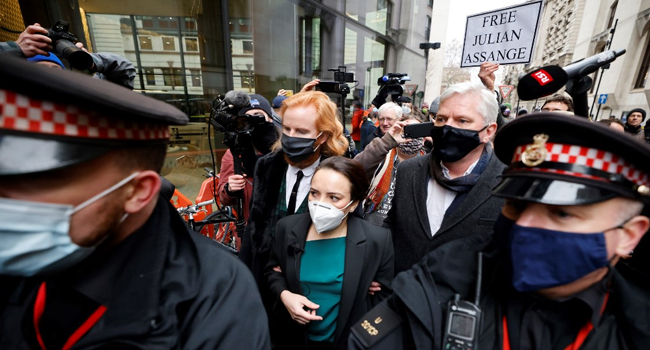UK Court Rejects Assange's Extradition To US