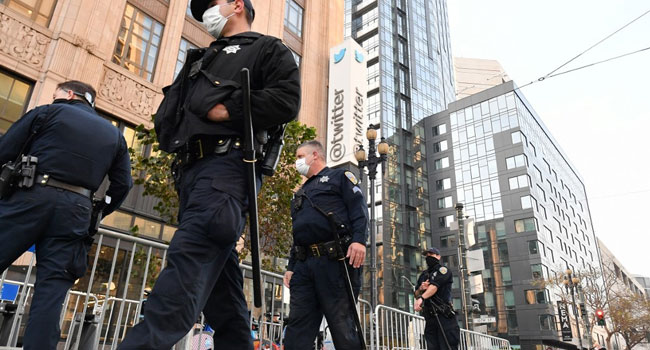 Ban: Pro-Trump Protest Outside Twitter HQ Flops