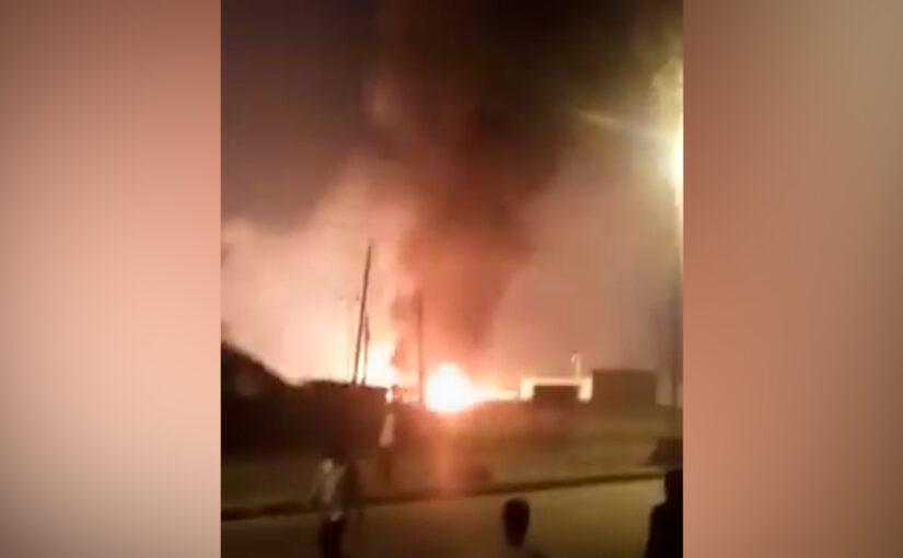 Explosion At Rumuodumaya Gas Plant Causes Panic