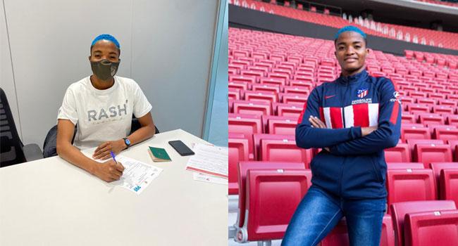 Super Falcon's Rasheedat Ajibade Joins Atletico Madrid