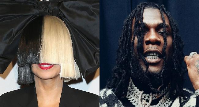 Sia Features Burna Boy For 'Hey Boy' Remix