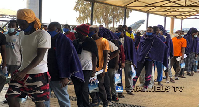384 Stranded Nigerians Return From Saudi Arabia