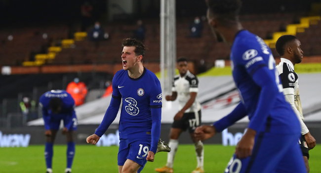 EPL: Mount Lifts Chelsea Over Fulham