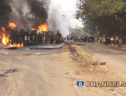 A fuel tanker exploded in Abeokuta on January 19, 2020.