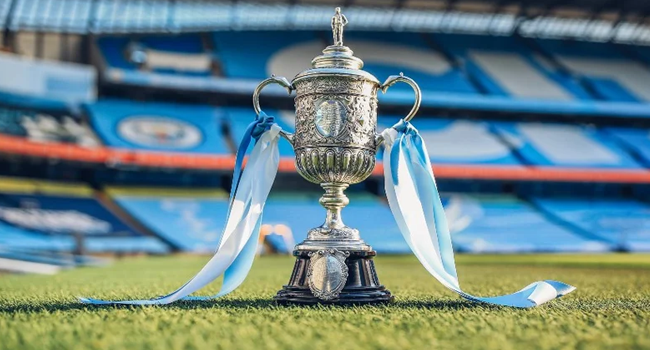 This is the oldest surviving FA Cup purchased by Man City owner, Sheikh Mansour .
