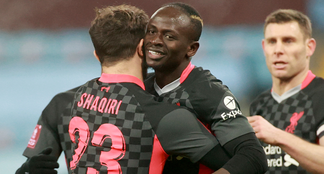 FA Cup: Liverpool Beat Depleted Aston Villa To Advance