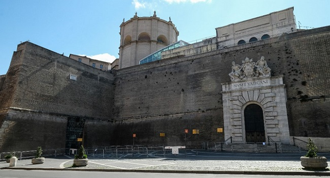 Vatican Museums To Reopen Monday After COVID-19 Closure
