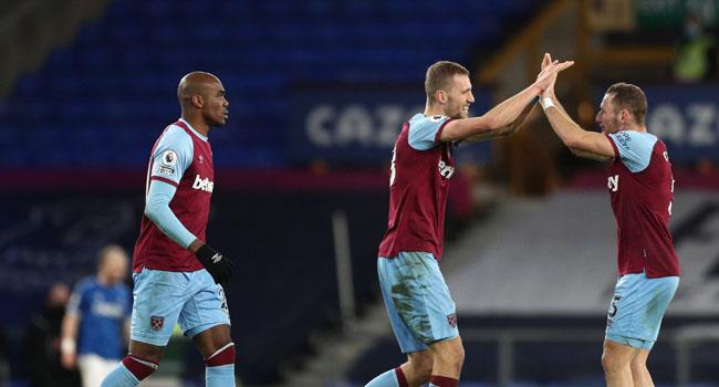 West Ham Grab Late Winner To End Everton's Winning Run