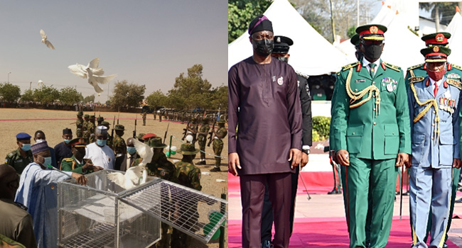 Governors Honour Fallen Heroes On 2021 Armed Forces Remembrance Day