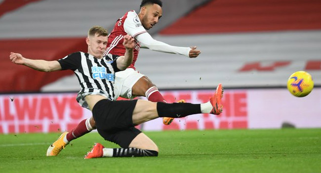Aubameyang Bags Brace As Arsenal Crush Newcastle