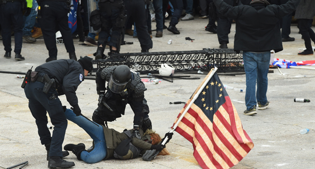 15 Indicted By US Justice Department Over Capitol Violence