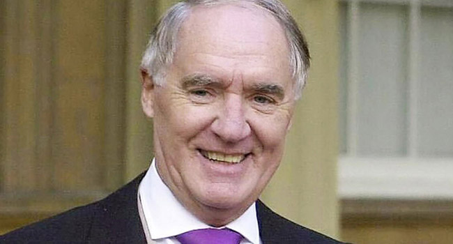 UK Billionaire And Daily Telegraph Owner David Barclay Is Dead