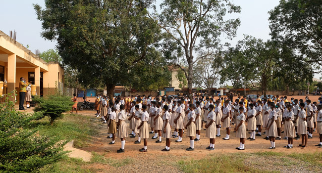 COVID-19: Schools In Ghana Reopen After 10-Month Closure