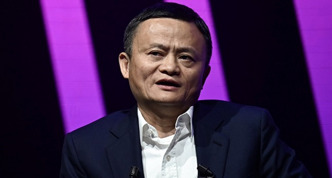 Alibaba's Shares Surge As Jack Ma Reappears