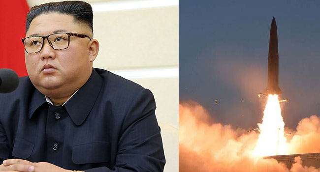 North Korea's Kim Vows To Strengthen Nuclear Arsenal