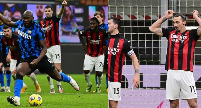 Coppa Italia: Lukaku Scores As Ibrahimovic Sees Red In Milan Derby