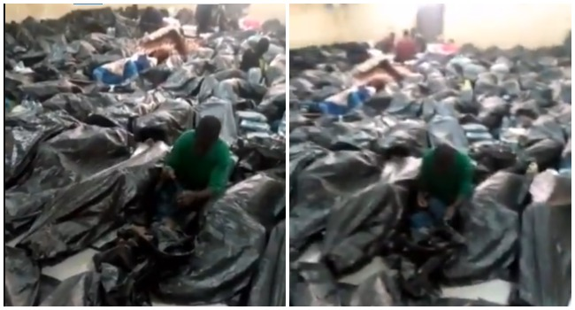 VIRAL VIDEO: About 600 Stranded Nigerians In Saudi Arabia Call For Help