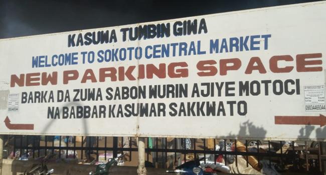 Fire Engulfs Sokoto Central Market