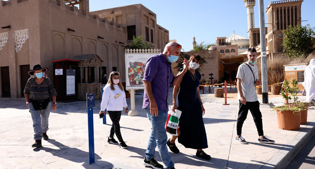 Escaping COVID-19 Lockdowns, Tourists Flock To Dubai