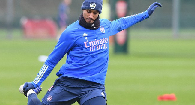 Arsenal Defender Saliba Joins French Side Nice On Loan