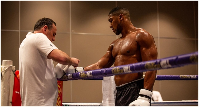 'I'd Rather Die In Battle' – Anthony Joshua Speaks Ahead Of Fury Matchup
