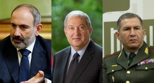 Armenian President Rejects PM's Request To Sack Army Chief