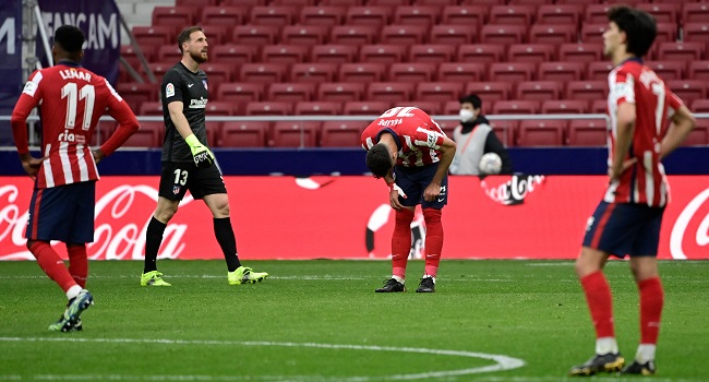 Atletico Madrid Stumble Again To Keep La Liga Title Race Alive