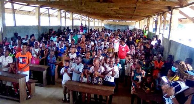 Female Journalists, NGO Donate To Children, Widows In Bakassi