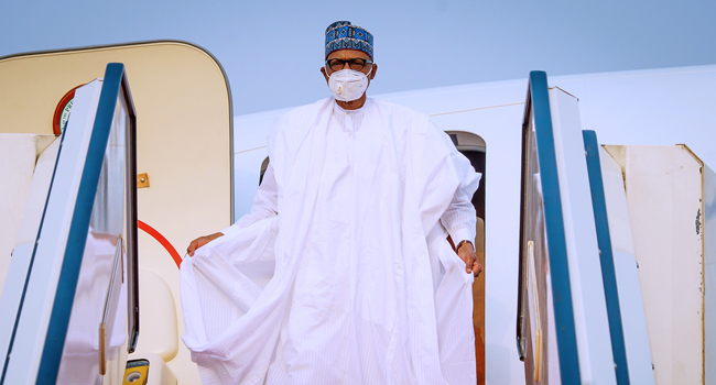 President Buhari Arrives In Abuja After 4-Day Visit To Daura