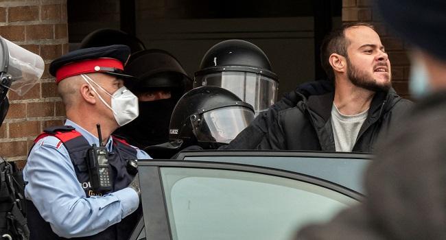 Spanish Police Arrest Rapper Holed Up In University