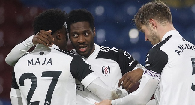 Fulham Draws 1-1 At Burnley, Now 6 Points From Safety In EPL