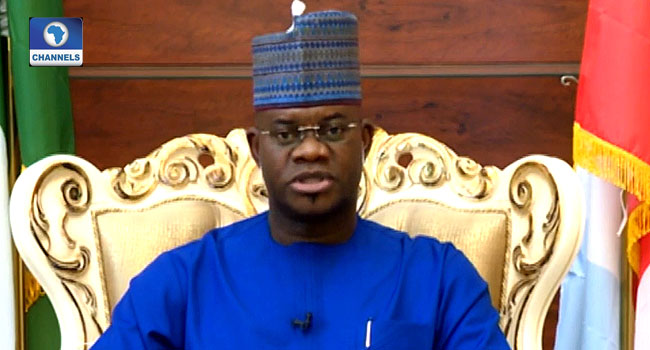 Insecurity: I Don't Visit Abuja For Solution, I Do My Job In Kogi – Yahaya Bello