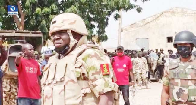 Insurgency: Army Chief Gives Troops 48-Hour Ultimatum To Clear Marte