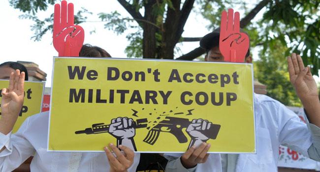 Myanmar Generals Under Renewed Pressure After Sanctions, Mass Protest