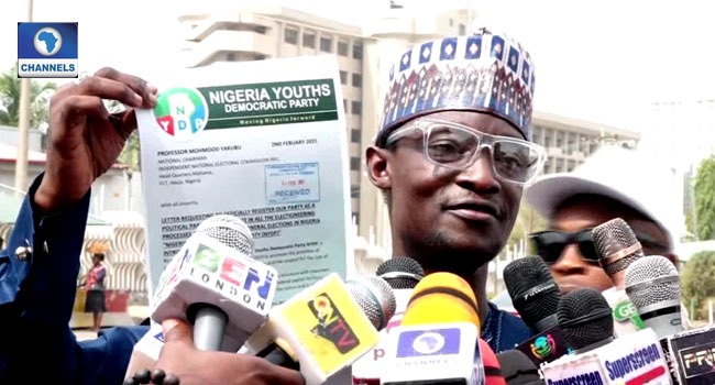 Youth Party Submits Letter Of Intent To Participate In 2023 Poll