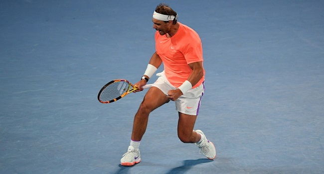 Nadal Stays On Track For Slams Record As Back Injury Eases