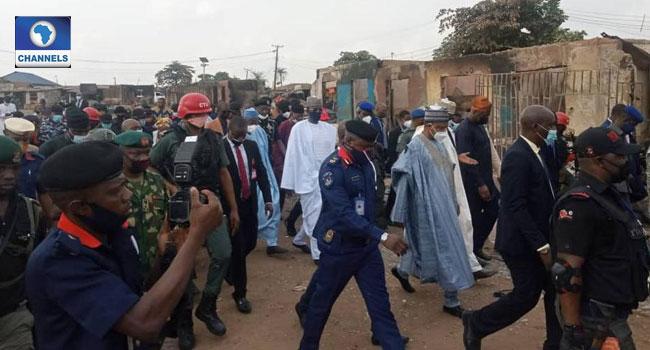 Crisis: Northern Governors, Seyi Makinde Visit Shasha Market