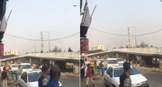 Chaos As NURTW Factions Clash In Obalende