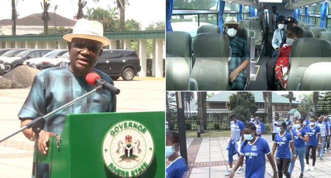 Beat Enyimba FC And Get N20m, Wike Promises Rivers United