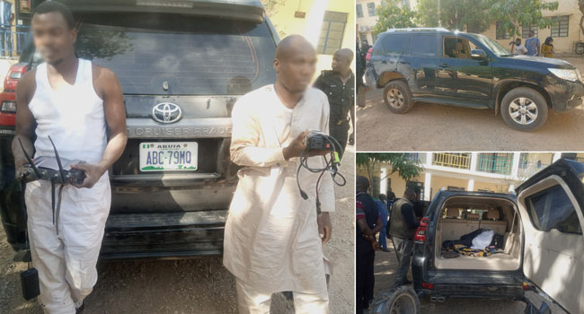 Two Members Of Notorious Armed Robbery Syndicate Arrested In Katsina