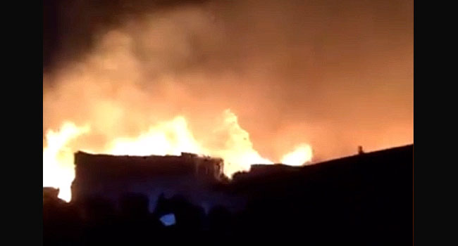 Goods, Shops Destroyed As Fire Guts Market In Port Harcourt