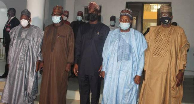 Shasha Crisis: Northern Governors Arrive Oyo, Meet Makinde Behind Closed Doors
