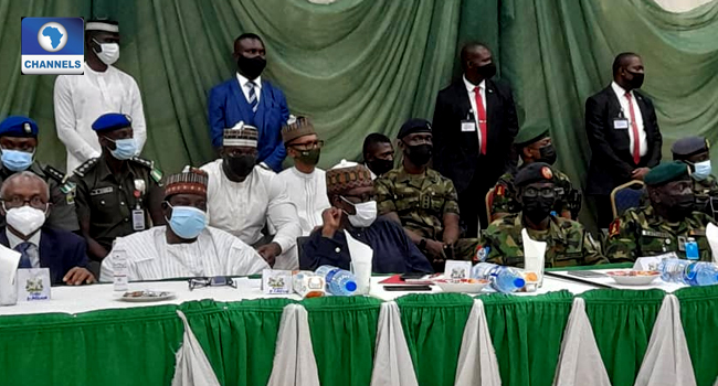 FG Delegation, Service Chiefs Meet Northern Governors And Leaders Over Security Challenges