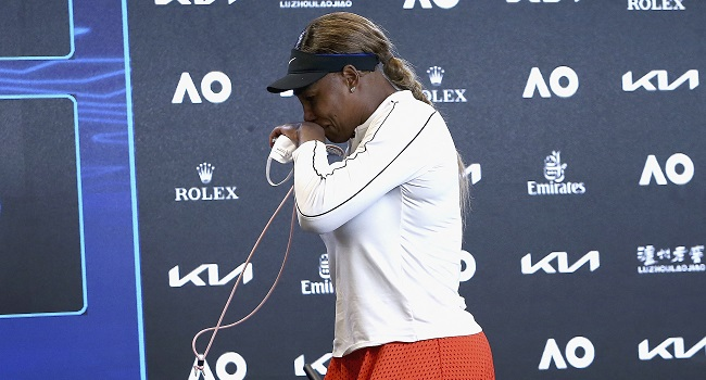 'I'm Done': Serena Williams Walks Out In Tears After Semi-Final Defeat