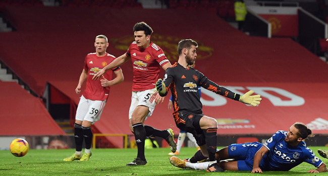 Man Utd Title Charge Falters As Everton Snatch Late Equaliser