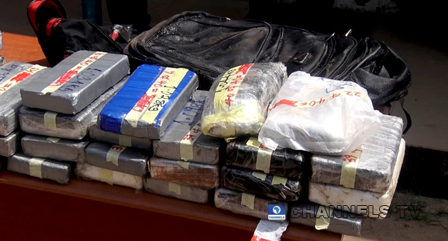 NDLEA Seizes Cocaine Worth Over N32bn At Lagos Port