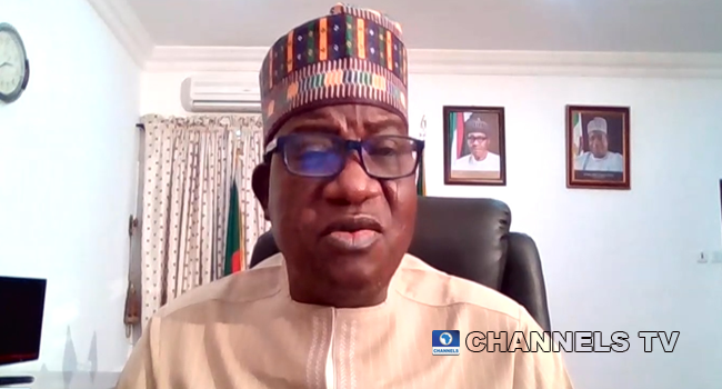 Chairman of the Northern Governors' Forum, Mr Simon Lalong made an appearance on Channels Television on February 9, 2021.
